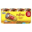 LR14FL(4S)【税込】 FDK アルカリ乾電池単2形 4本パック 富士通 FUJITSU FDK ロングライフタイプ [LR14FL4S]【返品種別A】【...