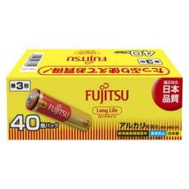 LR 6FL(40S) FDK アルカリ乾電池単3形 40本パック 富士通 FUJITSU FDK ロングライフタイプ [LR6FL40S]