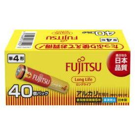 LR03FL(40S) FDK アルカリ乾電池単4形 40本パック 富士通 FUJITSU FDK ロングライフタイプ [LR03FL40S]