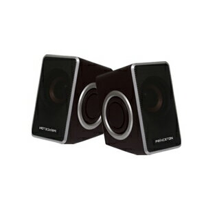 PSP-DPRS プリンストンテクノロジー デュアルパッシブラジエーター搭載USB電源スピーカー(シルバー) Speaker with Dual Passive Radiator [PSPDPRS]【返品種別A】