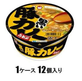 黒い豚カレーうどん 87g(1ケース12個入) 東洋水産 クロイブタカレ-ウドン87GX12