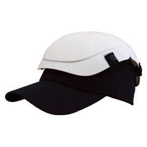 TSCMW トラスコ中山 折りたたみ式ヘルメット(ホワイト) 防災用セーフティ帽子 キャメット