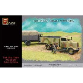 1/72 ドイツ陸軍 トラック 2両セット【PH7610】 ペガサスホビー