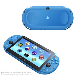 PlayStation(R)Vita Wi-Fiモデル アクア・ブルー【お一人様一台限り】 ソニー・コンピュータエンタテインメント [PCH-2000ZA23 PSVホンタイブルー]【返品種別B】【送料無料】