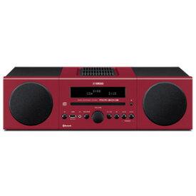 MCR-B043R ヤマハ CD/Bluetooth/USBマイクロコンポーネントシステム(レッド) YAMAHA