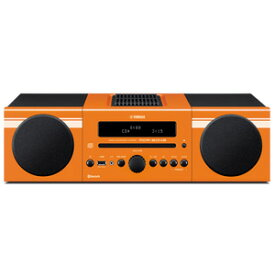 MCR-B043D ヤマハ CD/Bluetooth/USBマイクロコンポーネントシステム(オレンジ) YAMAHA