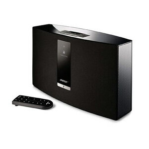 SOUNDTOUCH20 3BLK ボーズ Wi-Fi/Bluetooth対応ワイヤレススピーカー(ブラック) BOSE SoundTouch 20 Series III wireless music system [SOUNDTOUCH203BLK]【返品種別A】