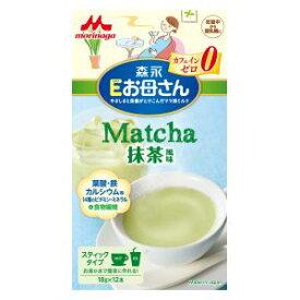 Eお母さん 抹茶風味 18g×12本 森永乳業 Eオカアサンマツチヤフウミ18GX12
