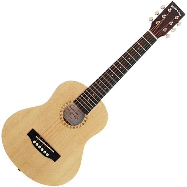 W-60/NTL セピアクルー ミニアコースティックギター(ナチュラル) Sepia Crue