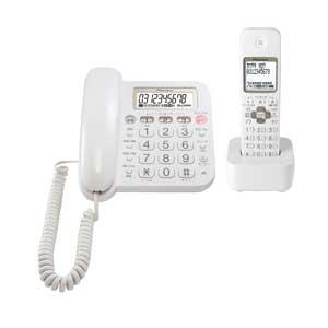 TF-SA15S-W パイオニア デジタルコードレス留守番電話機(子機1台)ホワイト Pioneer [TFSA15SW]【返品種別A】