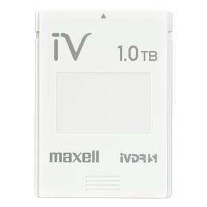 M-VDRS1T.E.WH.K マクセル iVDR-S規格対応リムーバブル・ハードディスク 1.0TB簡易包装パック ホワイト maxell カセットハードディスク「iV(アイヴィ)」 [MVDRS1TEWHK]【返品種別A】