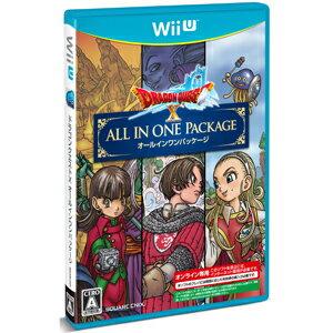 【Wii U】ドラゴンクエストX オールインワンパッケージ(ver.1+ver.2+ver.3) スクウェア・エニックス [WUP-P-BDQJ WiiUドラゴンクエスト10 オールインワン]【返品種別B】【送料無料】