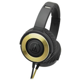 ATH-WS550-BGD オーディオテクニカ ダイナミック密閉型ヘッドホン(ブラックゴールド) audio-technica SOLID BASS