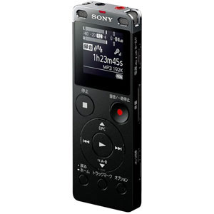 ICD-UX560FBC ソニー リニアPCM対応ICレコーダー4GBメモリ内蔵+外部マイクロSDスロット搭載(ブラック) SONY [ICDUX560FBC]【返品種別A】