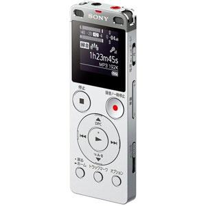ICD-UX560FSC ソニー リニアPCM対応ICレコーダー4GBメモリ内蔵+外部マイクロSDスロット搭載(シルバー) SONY [ICDUX560FSC]【返品種別A】