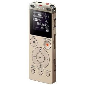 ICD-UX560FNC ソニー リニアPCM対応ICレコーダー4GBメモリ内蔵+外部マイクロSDスロット搭載(ゴールド) SONY