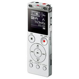 ICD-UX565FSC ソニー リニアPCM対応ICレコーダー8GBメモリ内蔵+外部マイクロSDスロット搭載(シルバー) SONY [ICDUX565FSC]【返品種別A】