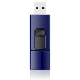 SP016GBUF2U05V1D シリコンパワー USB2.0対応 フラッシュメモリ 16GB(ネイビー) スライドシリーズ Ultima U05
