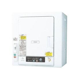 DE-N60WV-W 日立 6.0kg 衣類乾燥機 HITACHI これっきりボタン