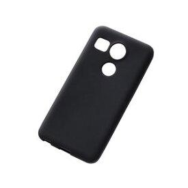 RT-NX5XC1/B レイ・アウト Google Nexus 5X用シリコンケース(ブラック)
