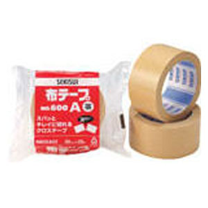 N60XA03 積水化学工業 布テープ 幅50mm×長さ25m(ダンボール色)1巻 No.600A [N60XA03]【返品種別A】