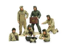 1/35MM アメリカ戦車兵セット(ヨーロッパ戦線)【35347】 タミヤ