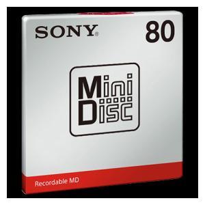 MDW80T ソニー 80分MD1枚パック SONY [MDW80T]【返品種別A】