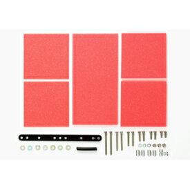 ブレーキスポンジセット(1/2/3mm レッド)【15492】 タミヤ