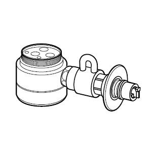 CB-SEF8 パナソニック 食器洗い乾燥機用分岐栓 Panasonic [CBSEF8]【返品種別A】