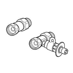 CB-S268A6 パナソニック 食器洗い乾燥機用分岐栓 Panasonic [CBS268A6NA]【返品種別A】
