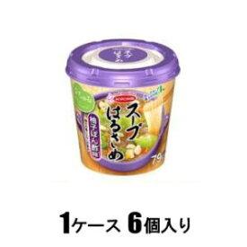 スープはるさめ 柚子ぽん酢味(1ケース6個入) エースコック ス-プハルサメユズポンズ32X6