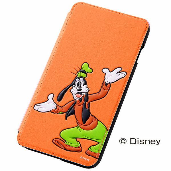 RT-DP8J/GF レイ・アウト iPhone 6 Plus/6s Plus用ディズニー・ポップアップ・ブックカバータイプ・レザージャケット 合皮(グーフィー) [RTDP8JGF]【Disneyzone】【返品種別A】