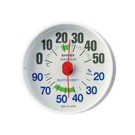 TM-2651 エンペックス ルシード温湿度計(ホワイト) EMPEX LUCIDO(ルシード)