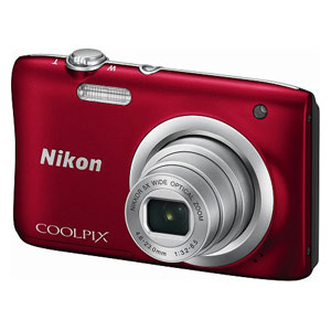 A100RD ニコン デジタルカメラ「COOLPIX A100」(レッド) [A100RD]【返品種別A】