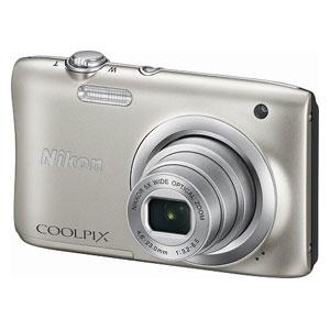 A100SL ニコン デジタルカメラ「COOLPIX A100」(シルバー) [A100SL]【返品種別A】