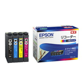RDH-4CL エプソン 純正インクカートリッジ(4色パック) EPSON リコーダー