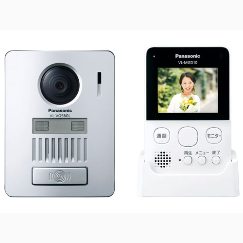 VL-SGD10L パナソニック ワイヤレステレビドアホン Panasonic [VLSGD10L]【返品種別A】