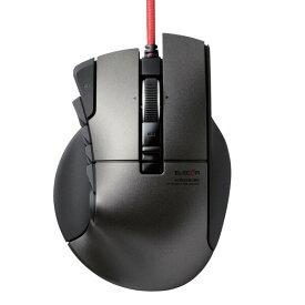 "M-DUX50BK エレコム USB有線光学式 14ボタンチルトホイール MMOゲーミングマウス(ブラック) ""DUX""(ドゥクス)"