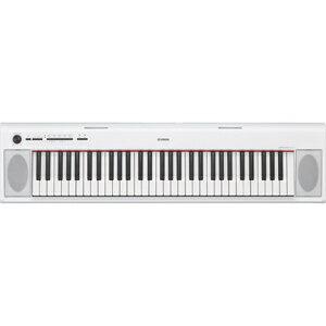NP-12WH ヤマハ 61鍵キーボード(ホワイト) YAMAHA piaggero(ピアジェーロ) [NP12WH]【返品種別A】
