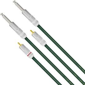 QAC-222 RTS/3.0 オヤイデ RCAケーブル RCA端子⇔TS phone変換ケーブル(3.0m・ペア) OYAIDE QAC-222シリーズ