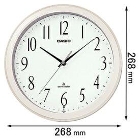 IQ-1060J-7JF カシオ 電波掛け時計 [IQ1060J7JF]【返品種別A】
