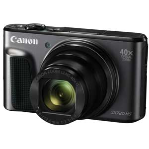 PSSX720HS(BK) キヤノン デジタルカメラ「PowerShot SX720 HS」(ブラック) [PSSX720HSBK]【返品種別A】【送料無料】