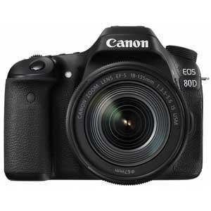 EOS80D18135ISUSMLK キヤノン デジタル一眼レフカメラ「EOS 80D」EF-S18-135 IS USMレンズキット [EOS80D18135ISUSMLK]【返品種別A】【送料無料】