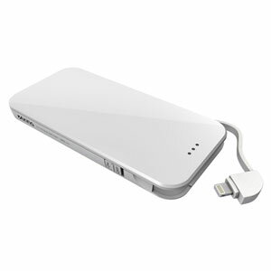 TIL34LW 多摩電子 iPhone/iPod用 Lightning リチウムチャージャー 3000mAh(ホワイト) AxinG(アクシング) [TIL34LW]【返品種別A】