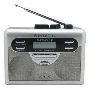 PCT-11R WINTECH ラジオ付テープレコーダー [PCT11R]【返品種別A】