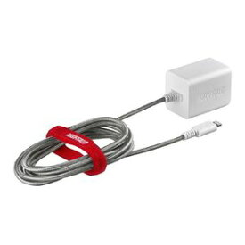 BSMPA2403LC2WH バッファロー 2.4A USB急速充電器 Lightningケーブル一体型タイプ 2.5m(ホワイト)