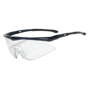 TSG1856BL トラスコ中山 一眼型安全メガネ フレームブルー レンズクリア