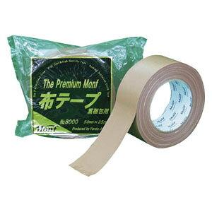 800050MMX25M 古藤工業 重梱包用 布粘着テープ 幅50mm×長さ25m(ダンボール色)1巻 No.8000 The Premium Monf
