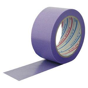 Y07V ダイヤテックス パイオラン内装養生テープ 幅50mm×長さ25m(パープル)1巻