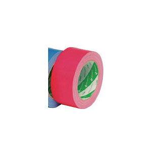 121150 ニチバン 布粘着テープ 幅50mm×長さ25m(レッド)1巻 布粘着テープ121